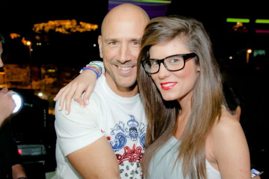 Νίκος Χαλκούσης & Κωνσταντίνα ρεπόρτερ Star
