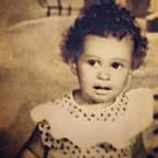Η Ελένη Φουρέιρα σε παιδική ηλικία